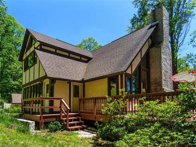 Weaverville Single Family Home Under Contract-Show: 108 Pink Fox Cove Road