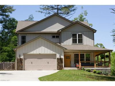 Weaverville Single Family Home Under Contract-Show: 51 Cherry Ridge Lane