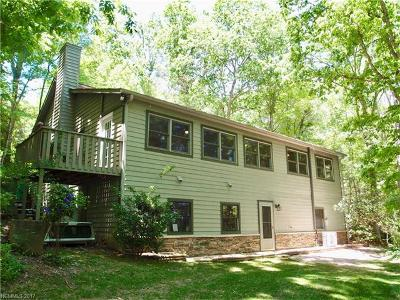 Transylvania County Single Family Home For Sale: 361 Pisgah Forest Drive