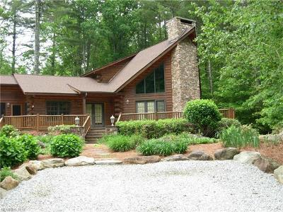 Transylvania County Single Family Home For Sale: 2142 Upper Whitewater Road