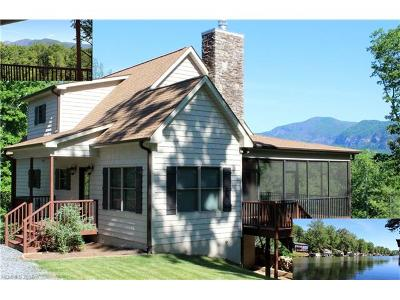 Lake Lure Single Family Home For Sale: 139 Picnic Point Road