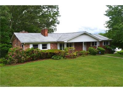 Asheville Single Family Home For Sale: 38 Mountain Terrace #18