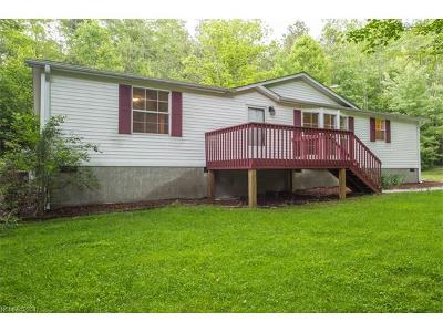 Pisgah Forest Manufactured Home Under Contract-Show: 202 Charley's Knob Road