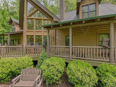 Waynesville Single Family Home For Sale: 713 Campbell Mountain Drive
