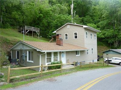Marshall NC Single Family Home Closed: $140,000