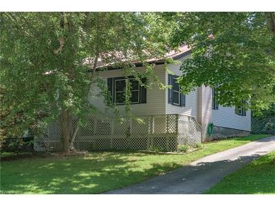 Asheville Single Family Home For Sale: 4 Wood Avenue