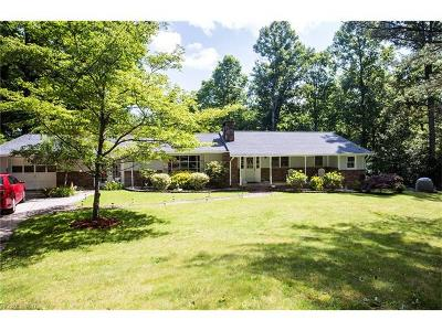 Pisgah Forest Single Family Home Under Contract-Show: 495 Williamson Creek Road