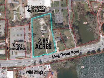 Asheville Residential Lots & Land For Sale: 66 Long Shoals Road