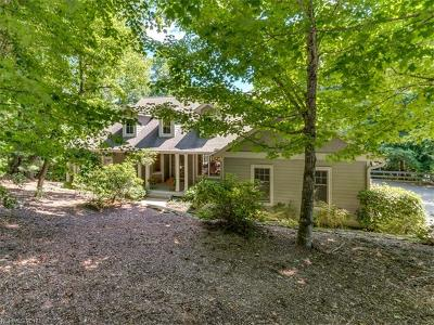 Hendersonville Single Family Home Under Contract-Show: 206 Bent Pine Trace