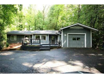 Pisgah Forest Single Family Home Under Contract-Show: 77 Knob Creek Road