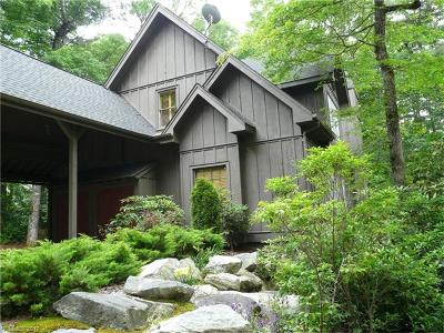 Lake Toxaway Single Family Home For Sale: 539 Seminole Way #15