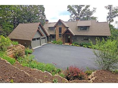 Transylvania County Single Family Home For Sale: 342 Allison Creek Trail
