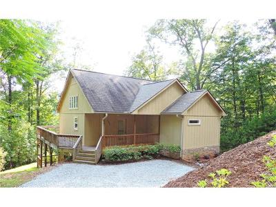 Lake Lure Single Family Home For Sale: 201 Hummingbird Way #352 Rive