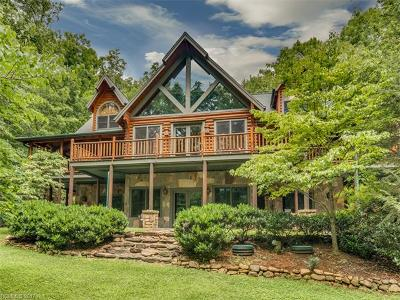 Lake Lure Single Family Home For Sale: 437 Kalmia Drive