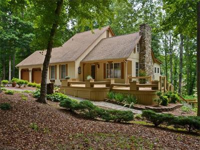 Candler Single Family Home For Sale: 40 Vista Woods Place