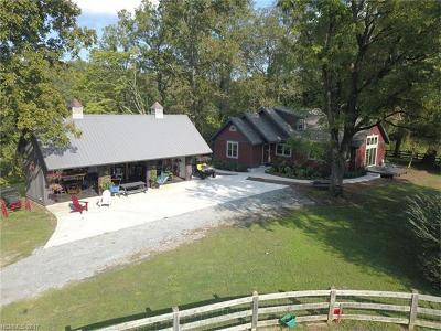 Rutherfordton Single Family Home For Sale: 441 V S Dalton Road