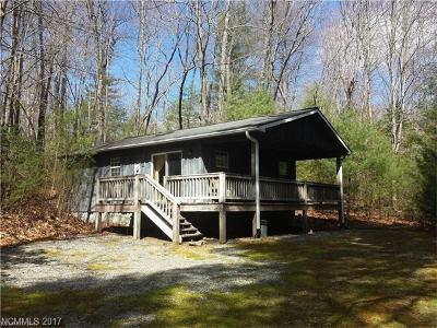 Brevard Single Family Home For Sale: 1780 Happy Acres Road