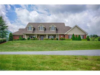 Waynesville Single Family Home For Sale: 130 Steeple View Ridge