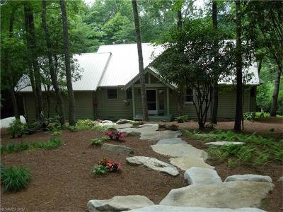 Transylvania County Single Family Home Under Contract-Show: 54 Copperhead Road