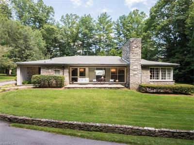 Asheville Single Family Home Under Contract-Show: 6 East Forest Road