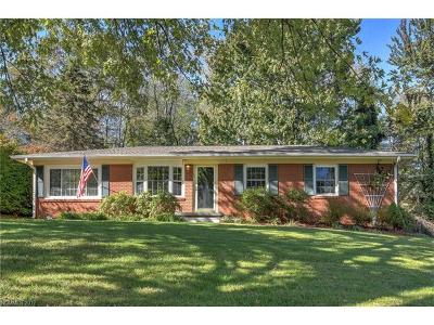 Asheville Single Family Home For Sale: 30 Grandview Circle #43