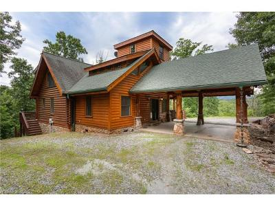 Lake Lure Single Family Home For Sale: 146 Rabbits Lane