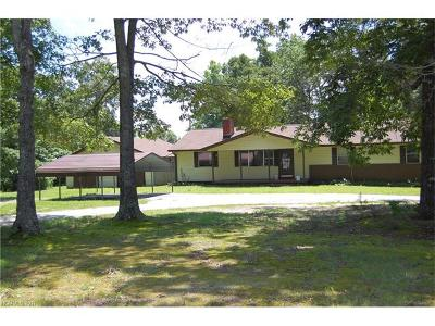 Tryon Single Family Home For Sale: 3200 Peniel Road