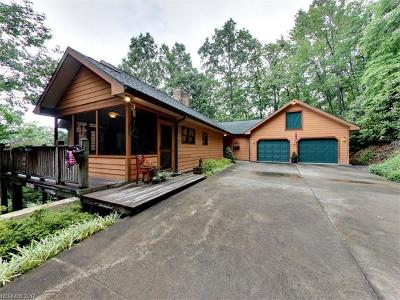 Pisgah Forest NC Single Family Home For Sale: $469,000
