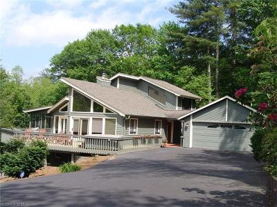 Lake Toxaway Single Family Home For Sale: 640 North Country Club Boulevard