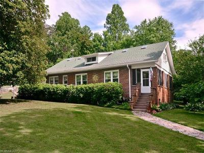 Candler Single Family Home For Sale: 550 Case Cove Road