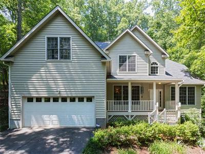 Asheville Single Family Home Under Contract-Show: 119 Coachmans Trail