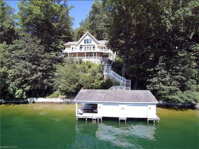 Lake Lure Single Family Home For Sale: 140 Lakeridge Road #50A