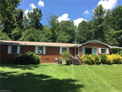 Weaverville Single Family Home Under Contract-Show: 530 Reems Creek Road