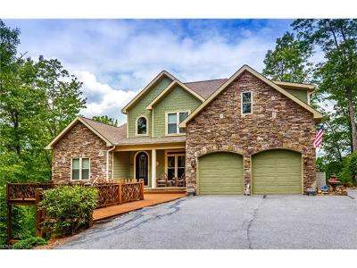 Transylvania County Single Family Home For Sale: 128 Antler Ridge