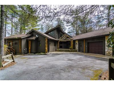 Lake Toxaway Single Family Home For Sale: 3 Pine Forest Point #16