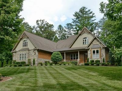 Hendersonville Single Family Home Under Contract-Show: 90 N Ridgeview Hill Drive