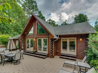 Lake Lure Single Family Home Under Contract-Show: 136 Sherwood Drive #13/14