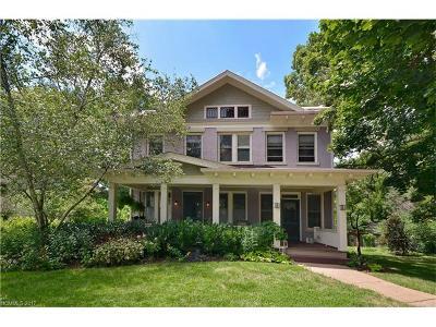 Asheville Single Family Home For Sale: 70 Kenilworth Road