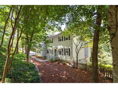 Asheville Single Family Home For Sale: 2 Sunset Walk