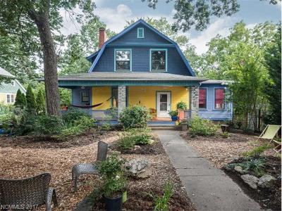 Asheville Single Family Home For Sale: 149 Hillside Street