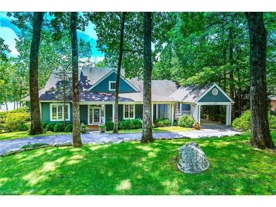 Transylvania County Single Family Home For Sale: 2946 West Club Boulevard