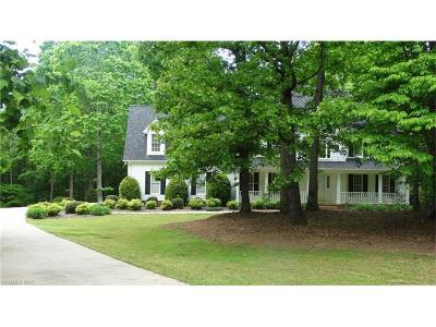Rutherfordton Single Family Home For Sale: 147 W. T. Wilkins Road