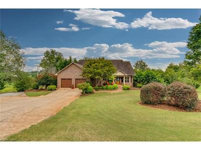 Rutherfordton Single Family Home Under Contract-Show: 380 Old Stonecutter Road