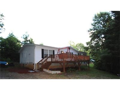 Transylvania County Manufactured Home For Sale: 3152 Tanasee Gap Road