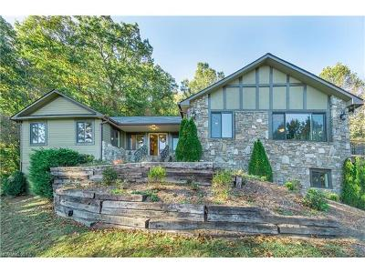 Waynesville Single Family Home For Sale: 1227 Rocky Knob Road