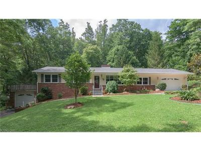 Black Mountain Single Family Home Under Contract-Show: 435 Beverly Road