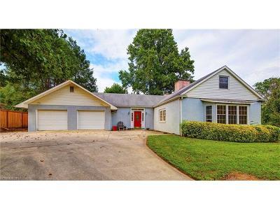 Asheville Single Family Home For Sale: 1331 Merrimon Avenue