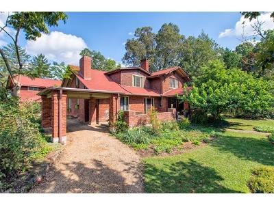 Asheville Single Family Home For Sale: 87 Kenilworth Road