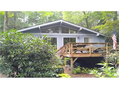 Lake Toxaway Single Family Home For Sale: 705 Shelton Road #723 & 72
