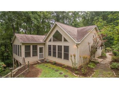 Black Mountain Single Family Home For Sale: 26, 13, 17 Wood Robin Lane
